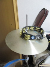 hi hat with tambourine