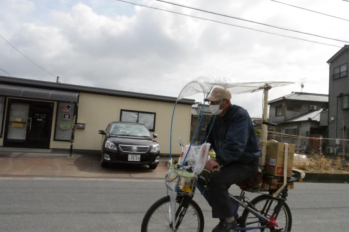 岡山市街の自転車たち Bicycle in OKAYAMA City