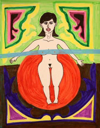 日ノ丸子シリーズ sun woman02web